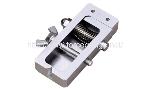 cw 500n wire clamp jig for wire harness test imada co terminal clamp jig for crimp pull testch 500n