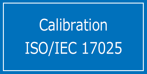 Calibration ISO/IEC 17025
